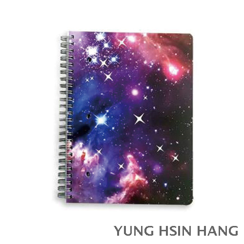 78-20WN Galaxy Small Wire-O Bound Notebook